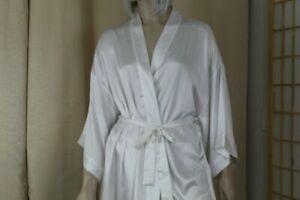 Victoria's Secret I Do 'Bride' Robe Silky White Size S/M/L Bridal Wedding