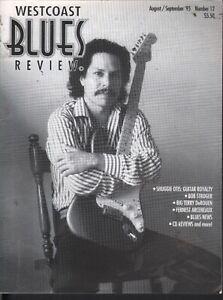 Magazine: Westcoast Blues Review (Aug/Sept 1995) SHUGGIE OTIS,Blues news,reviews