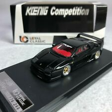 1/64 YM LC Classic Ferrari TESTAROSSA KOENIG Competition Black with red interior