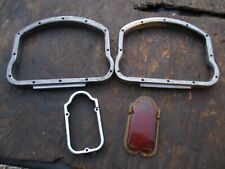 HARLEY DAVIDSON PANHEAD  D-RING AND TOMBSTONE OEM GLASS TAILLIGHT