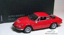 Koysho 1/18: 08484R Renault Alpine A110 1600 S, red - New 03/2016