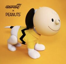 "Super7 SDCC 2019 Peanuts Snoopy & Charlie Brown Mask 16"" Vinyl Art Figure - Kaws"