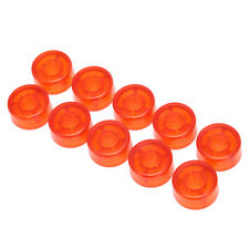 10pcs footswitch topper plastic bumpers guitar effect pedal foot nail cap 2_7