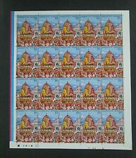 "India - ""ARCHITECTURE ~ TEMPLE ~ RATH YATRA PURI"" MNH Full Sheet 2010"
