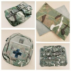 Genuine British Army OSPREY MkIV MTP Tactical Ancillary MOLLE Pouches Webbing