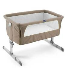 Chicco Next 2 Me Side Bedside Co-Sleep Sleeping Baby Crib / Cot Bed - Dove Grey