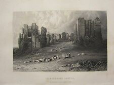 1892 PRINT ~ KENILWORTH CASTLE