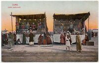Postcard Arabic Roadside Store in Cairo, Egypt~107785