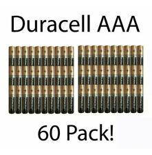60-Pack Duracell AAA Alkaline Batteries Brand New