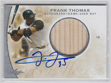 Frank Thomas 2014 Leaf Game Used Bat Auto White Sox Autograph