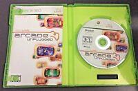 Xbox Live Arcade Unplugged Volume 1 Microsoft Xbox 360 Complete w/ Manual & Box
