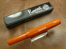 KAWECO SKYLINE SPORT FOUNTAIN PEN FOX NEW COLOR!  FINE NIB MADE IN GERMANY/ BOX