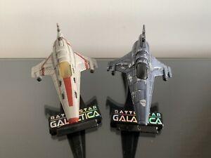 Battlestar Galactica Titanium series Viper mk.VII X2 ship diecast