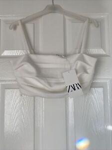Zara Crop Top Size Large