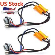 US 1157 BAY15D Decoder Resistor LED Turn Stop Brake Light Hyper Flash Fix Canbus