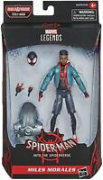 Miles Morales Into The Spider-Verse Spider-Man Marvel Legends  Action Figure