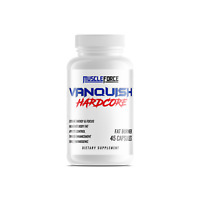 MUSCLE FORCE VANQUISH HARDCORE (45 CAP) fat loss weight diet suppress appetite