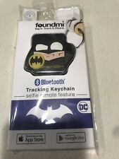 New Foundmi Bluetooth Tracking Keychain Series 1 Dc Batman Bat Man