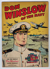 DON WINSLOW #33 5.0 FAWCETT 1946 OFF-WHITE PAGES