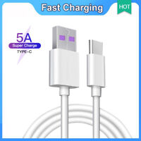 5A Type-C Cable USB 3.0 to USB C 3.1 Fast Charger Data Cable For Samsung Huawei