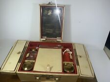Rare Rawhide Shortrip Ladies Cosmetic Suitcase Train Case with Compartments ++
