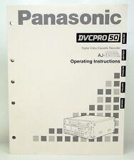 Operating Instructions für PANASONIC AJ-D960 E/EG DVCPro50 Recorder NEU (718)