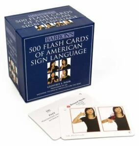 500 Flash Cards of American Sign Language