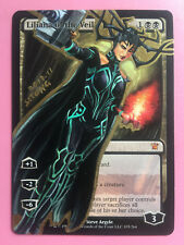 MTG ALTERED ART HAND PAINTED LILIANA OF THE VEIL HELA BY SITONG