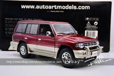 Autoart 1:18 MITSUBISHI PAJERO SUV Red