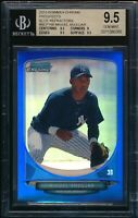 BGS 9.5 MIGUEL ANDUJAR 1st 2013 Bowman Chrome BLUE REFRACTOR #/250 RC GEM MINT