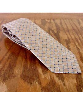 """euc Jos. A. Bank Executive Collection Geometric Men's 100% Silk Tie 60"""" 3"""""""