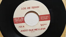LOS DE TERAN - Ando Que Me Lleva / Filomena 1981 NORTENO RANCHERA d.l.b. (NM)