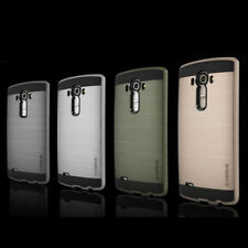 ANTICHOQUE Metal Híbrido Goma Funda for LG G3 G4 G5 K7 K8 K10 V10
