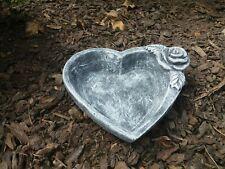 Blumenschale Herz-Schale zum bepflanzen Rattan Pflanz-Schale Herz