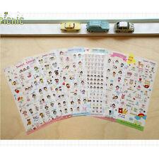 6 Sheets Korean SWEET GYINGS Cute Diary Album Decorative Sticker DIY Craft Vy