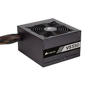 Corsair CP-9020171-UK VS Series VS550 550W 80+ Power Supply Unit - Black