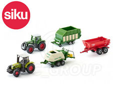 SIKU NO.6286 1:87 Scale SIKU GIFT SET - 5 AGRICULTURAL VEHICLES Dicast Model Toy