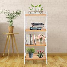 4Tier Bamboo Adjustable Shelf Shoe Rack Kitchen Storage Organizer Home Furniture