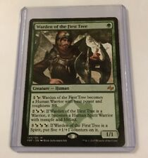 Magic the Gathering MTG Warden of the First Tree Mythic Nr Mint