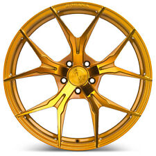 "20"" Rohana RFX5 Gloss Gold Concave Wheels for Audi"