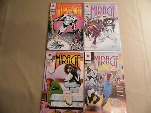 Doctor Mirage #1-4 (Valiant 1993) Free Domestic Shipping