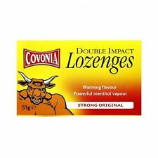 Covonia Double Impact Lozenges Extra Strong Original 51g - 3 Pack