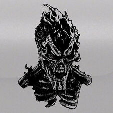 Inferno Skull Graphic Tailgate Hood Window Decal Vehicle Truck Vinyl Motorcycle