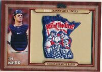 2011 Topps 1982 Minnesota Twins Commemorative Patch #JM Joe Mauer