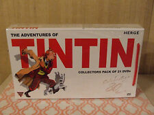 The Adventures of TinTin Collector's Pack 21 DVDS Complete  NEW (SEE DETAILS)