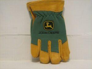 John Deere Deerskin Work Gloves new no tags