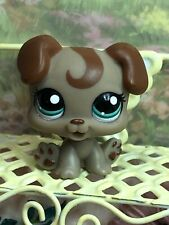Littlest Pet Shop LPS 1197 Puppy Baby Dog Hair Brown Tan