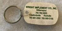 Crawfordsville Rockville IN Indiana JOHN DEERE WRIGHT IMPLEMENT Advertising Farm