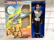 "VINTAGE 1979 MEGO STAR TREK KLINGON 12"" FIGURE NEW IN OPEN BOX"