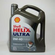 5 LITRI SHELL HELIX ULTRA 0w40 pure Plus Dl MOTORE